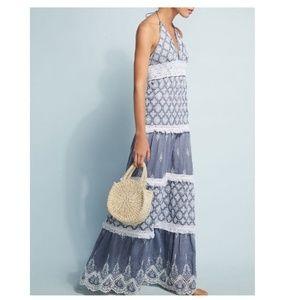 Anthropologie Lucia Maxi Dress by Tessora $275